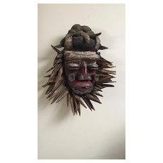 African Guere Mid Century  Mask from Liberia / Ivory Coast