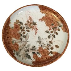 Old Kutani Plate from Japan