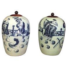 19th Century Chinese Celadon Vases