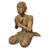 19th Century Buddhist Figure from Thailand
