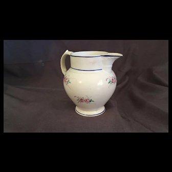 19th Century Vieillard Creamware  Cream Jug or Pitcher