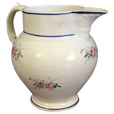 19th Century Vieillard Creamware  Cream Jug or Pitcher