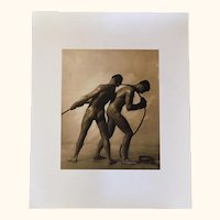 Art Deco  Photographic Print from the Royal Photographic Society 12 x 10""
