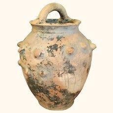 Unglazed Pottery Vessel or Vase