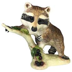 "Porcelain Raccoon by Cybis 7"" tall"