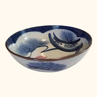 """Japanese Arita Porcelain Bowl 10"""" diameter"""