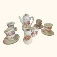 19 pc Continental Coffee/ Tea Set
