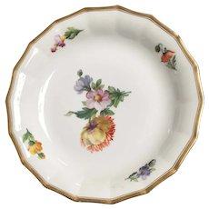 """Floral Soup Bowl  from Royal Copenhagen   10  1/4"""" diameter"""
