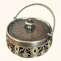 Doulton Lambeth Aesthetic Stoneware Jar artist Signed