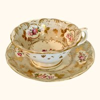 Circa 1840 Royal Crown Derby Cup and Saucer