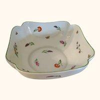 Tiffany & Co Limoges Porcelain Bowl 8  1/4 Diameter