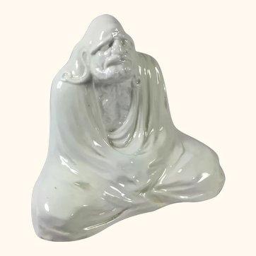 "Antique Bodhidharma Figure "" Tall"