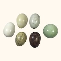 Five Marble Eggs and a Sphere