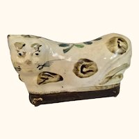 "Chinese Cat Pillow Cizhou Type 10"" Long"