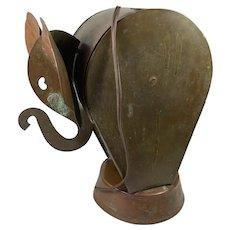 """Table Lamp as an Elephant 10"""" High"""