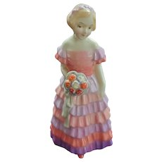 Tiny Royal Doulton Little Bridesmaid Figurine 3 3/4""