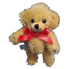 Adorable Miniature Merrythought Mohair Cheeky Gold Teddy Bear