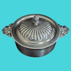 Tiffany & Co. Silver Soldered Covered Serving Pan or Dish