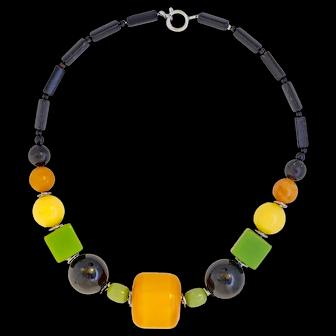 Chunky Wonderful Colorful Jakob Bengel '30s Necklace