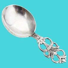 David Andersen Bon Bon Candy Spoon 830 Silver 1900 Norway Mono HL