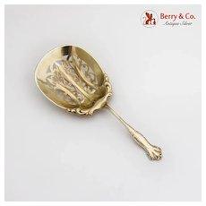 Hope Saratoga Chips Cracker Spoon Howard Gilt Sterling Silver 1899