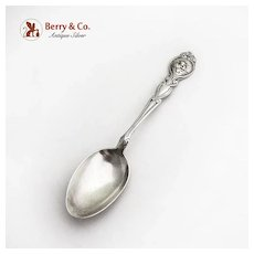 Loves Dream Teaspoon Unger Brothers Sterling Silver 1904 No Mono