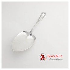 Marie Louise Pie Pastry Server Shreve Sterling Silver 1915