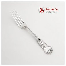Tiffany Saint James Dinner Fork Sterling Silver Pat 1898