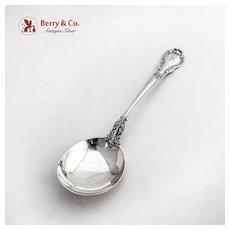 Chantilly Gumbo Soup Spoon Sterling Silver Pat 1895 Mono K