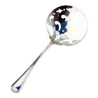 Fairfax Bon Bon Candy Nut Spoon Durgin Sterling Silver 1910
