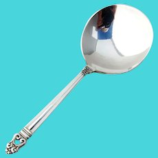 Royal Danish Candy Nut Spoon International Sterling Silver 1939