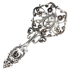 Ornate Openwork Bon Bon Spoon Shiebler Sterling Silver 1890