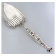 Hyperion Pie Server Whiting Sterling Silver 1888