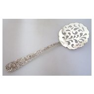 Repousse Tomato Server Pierced Kirk Sterling Silver 1940