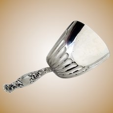 Whiting Heraldic Almond Scoop Sterling Silver 1880