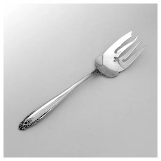 Prelude Cold Meat Fork International Sterling Silver 1939
