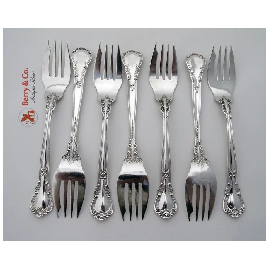 @ Gorham Chantilly Sterling Silver Salad Fork