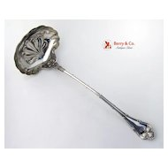Empire Soup Ladle Sterling Silver Whiting 1892