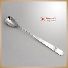 """Fiorito By Shiebler Sterling Silver Sugar Spoon 6 1//4/"""""""