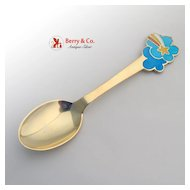 Christmas Spoon 1975 Michelsen Sterling Silver