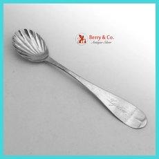 American Coin Silver Master Salt Spoon 1840