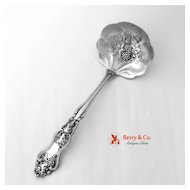 Moselle Gravy Ladle International Silverplate 1906