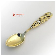Christmas Spoon 1941 Michelsen Sterling Silver
