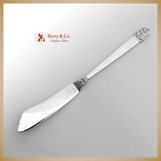 Northern Lights Master Butter Knife Sterling Silver International 1946