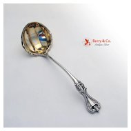 Old Colonial Cream Ladle  Sterling Silver Towle 1895