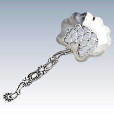 Bon Bon Openwork Spoon Sterling Silver Whiting
