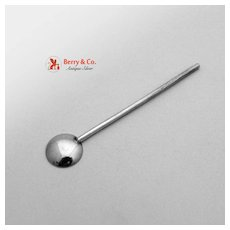 Salt Spoon Sterling Silver