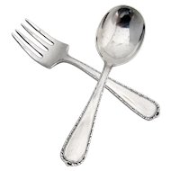 Baby Set 2 Pieces Sterling Silver