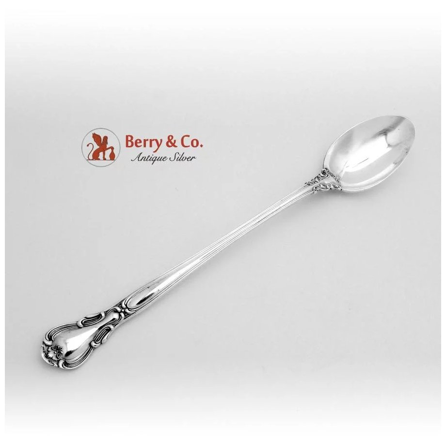 "Chantilly by Gorham Sterling Silver Iced Tea Spoon 7 5//8/"" New"