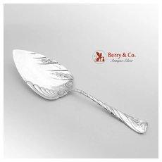 Le Louvre Pie Server Silver Plate Reed Barton 1888